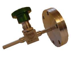 V-SS4H Manual Gas Admission Bellows Sealed Valves