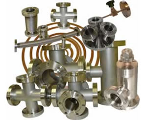 CF Conflat Flanges & Fittings